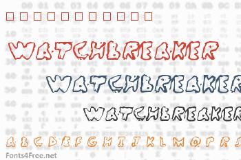 WatchBreaker Font