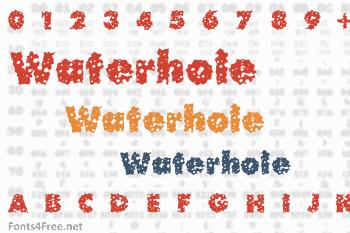Waterhole Font
