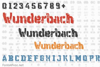 WC Wunderbach Mix Bta Font