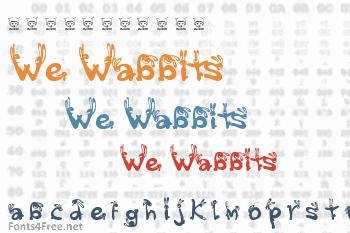 We Wabbits Font