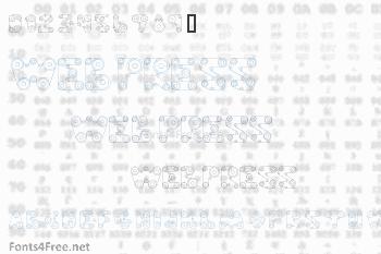 Web Press Font