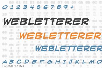 WebLetterer Font