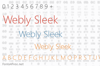 Webly Sleek Font