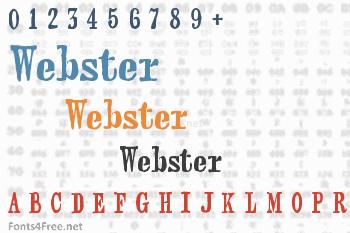 Webster Font