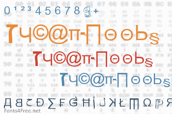 Weird Tucan-Noobs from Saint Seson Font