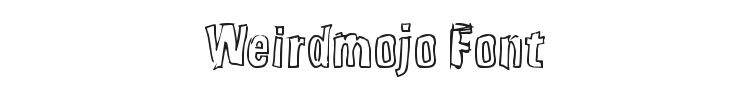 Weirdmojo Font