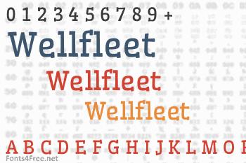 Wellfleet Font