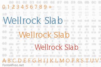 Wellrock Slab Font