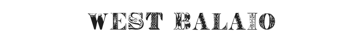 West Balaio Font Preview