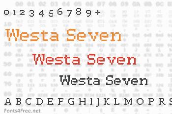 Westa Seven Font
