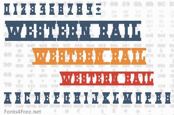 Western_Rail Font