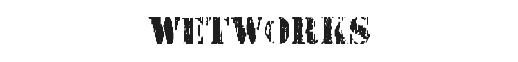 Wetworks Font Preview