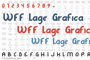 WFF Lage Grafica Font
