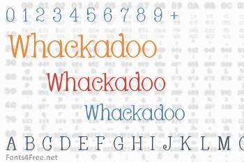 Whackadoo Font