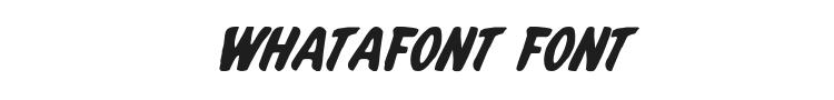 Whatafont