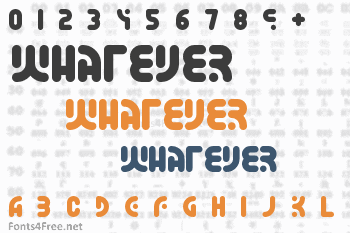 Whatever Font