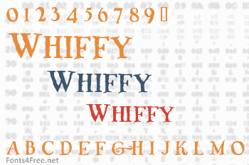 Whiffy Font