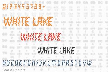 White Lake Font