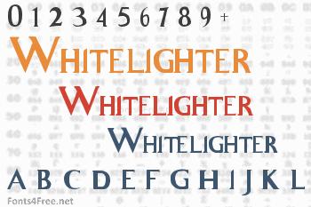 Whitelighter Font