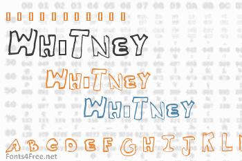 Whitney2 Font