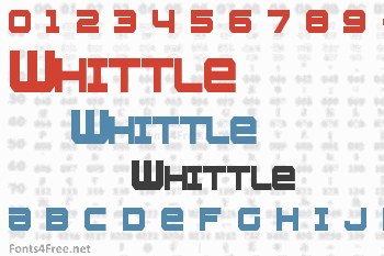 Whittle Font