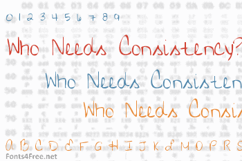 Who Needs Consistency? Font