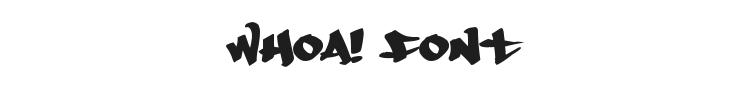 Whoa! Font