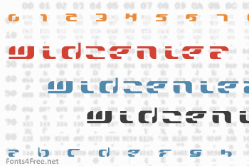 Widzeniea Font