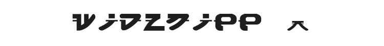 Widznipp 1 Font