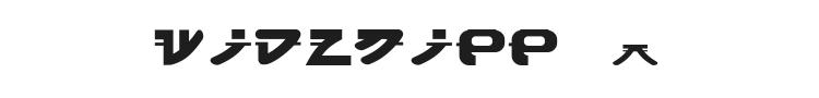 Widznipp 1 Font Preview