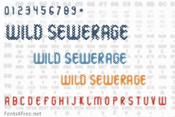 Wild Sewerage Font