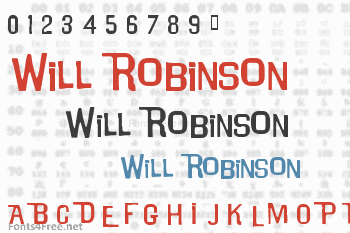 Will Robinson Font