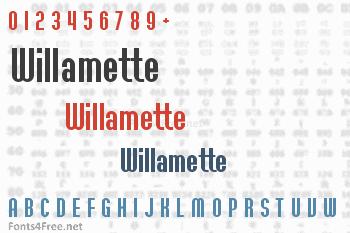 Willamette Font