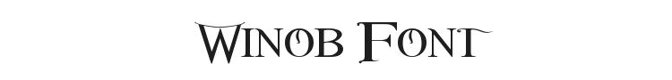 Winob Font Preview