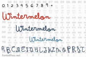 Wintermelon Font