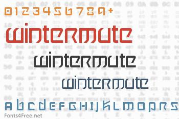 Wintermute Font