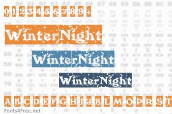 WinterNight Font