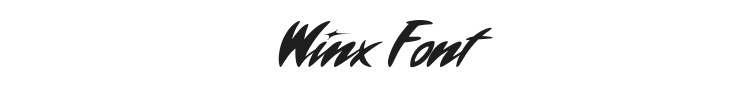 Winx Font Preview