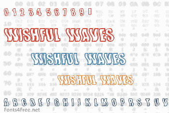 Wishful Waves Font