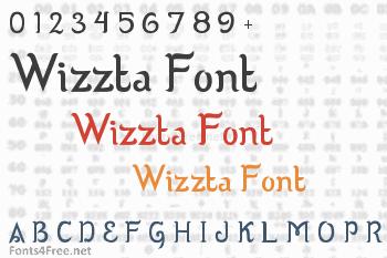 Wizzta Font
