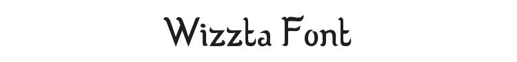 Wizzta Font Preview