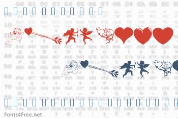 WM Valentine Font