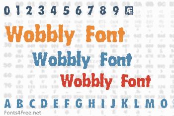 Wobbly Font