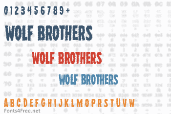 Wolf Brothers Font