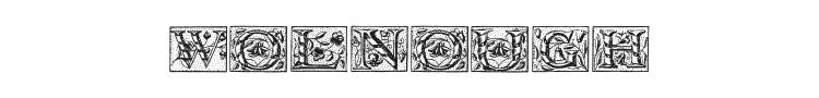 Wolnough Font