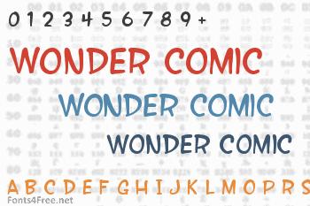 Wonder Comic Font