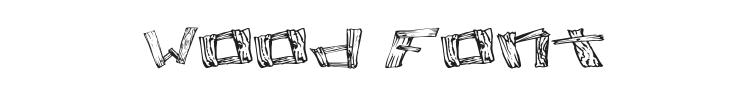 Wood 2 Font