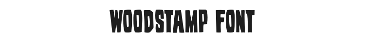 Woodstamp Font