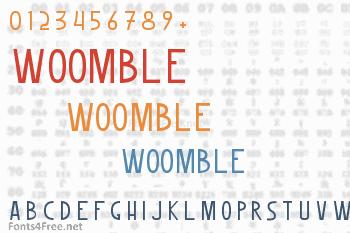 Woomble Font