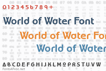 World of Water Font